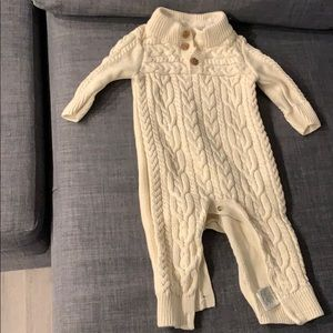 Baby gap sweater onesie